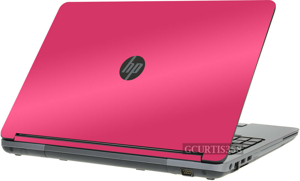 Hot Pink Vinyl Lid Skin Cover Decal Fits Hp Probook 655 G1