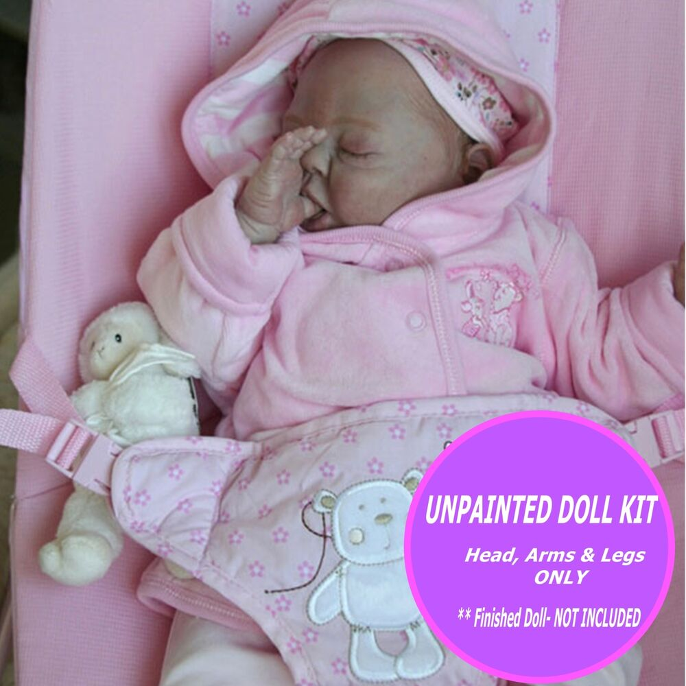Baby Doll Kit Sofie Reborn Doll Kit By Denise Pratt