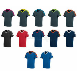 Kyпить Augusta Sportswear Men's Get Rowdy Shoulder Stripe Tee Short Sleeve T-Shirt. 363 на еВаy.соm
