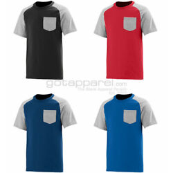 Kyпить Augusta Sportswear Men's Left Chest Pocket Short Sleeve Crewneck T-Shirt. 367 на еВаy.соm