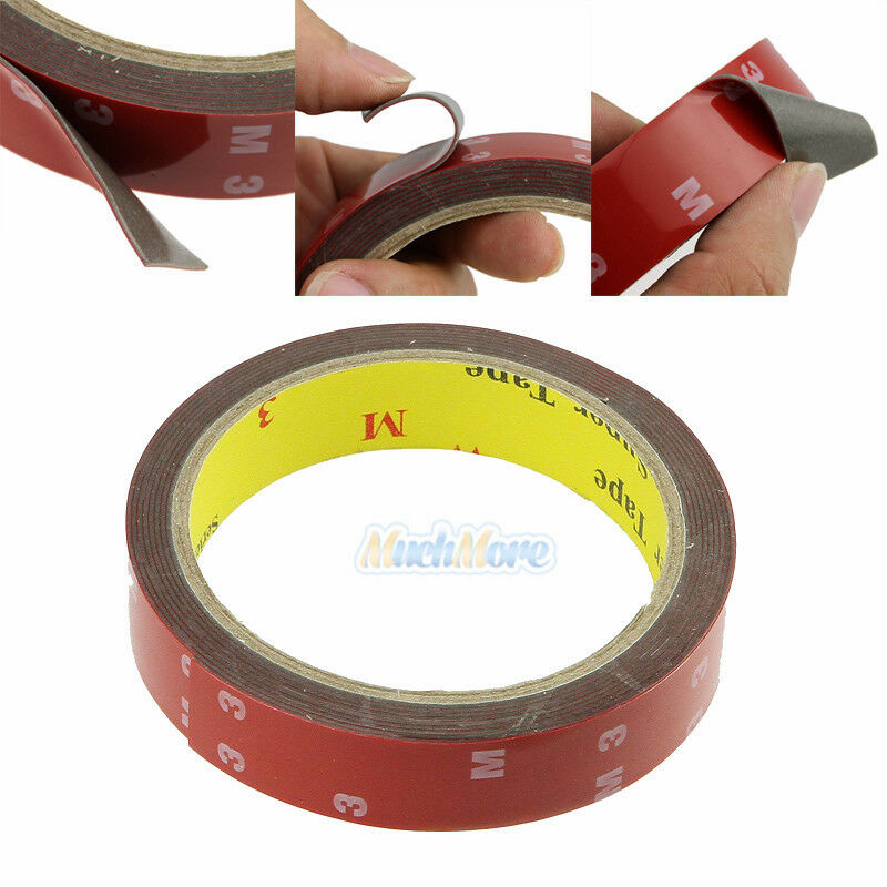 3m roll automotive acrylic plus double sided attachment for Double sided craft tape