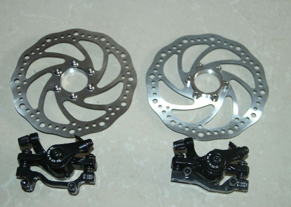 Mechanical Bicycle Front Rear Disc Brake Caliper Kits
