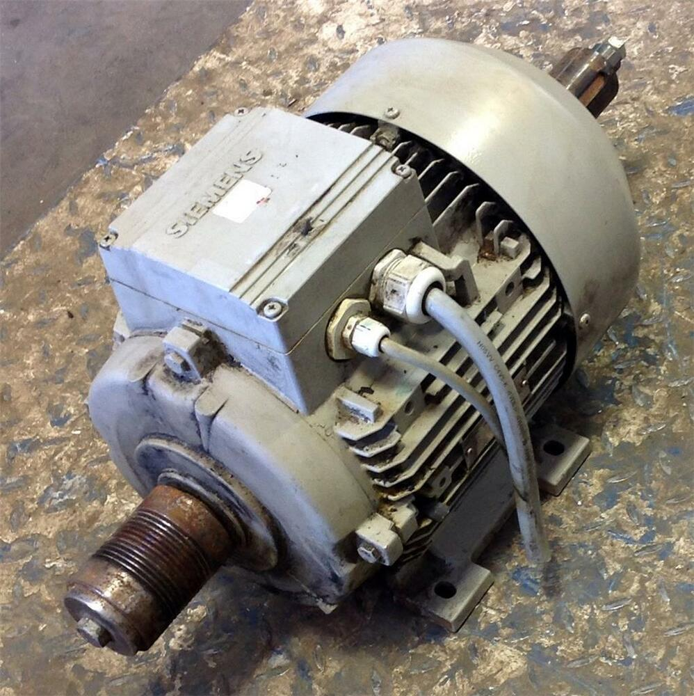 Siemens 3ph 480v 1755rpm Electric Motor 1la71304aa90
