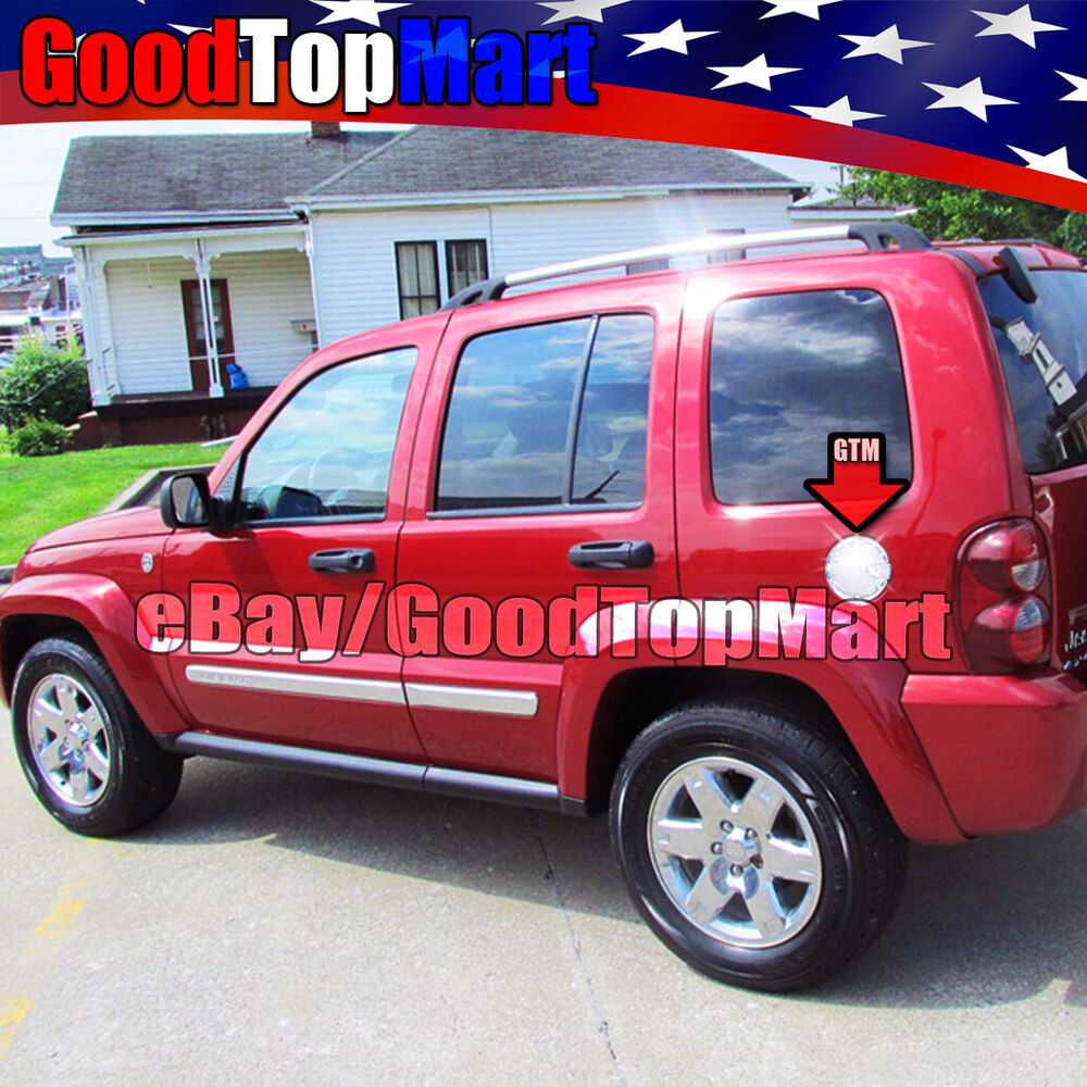 For Jeep LIBERTY 2002 2003 2004 2005 2006 2007 Chrome Gas