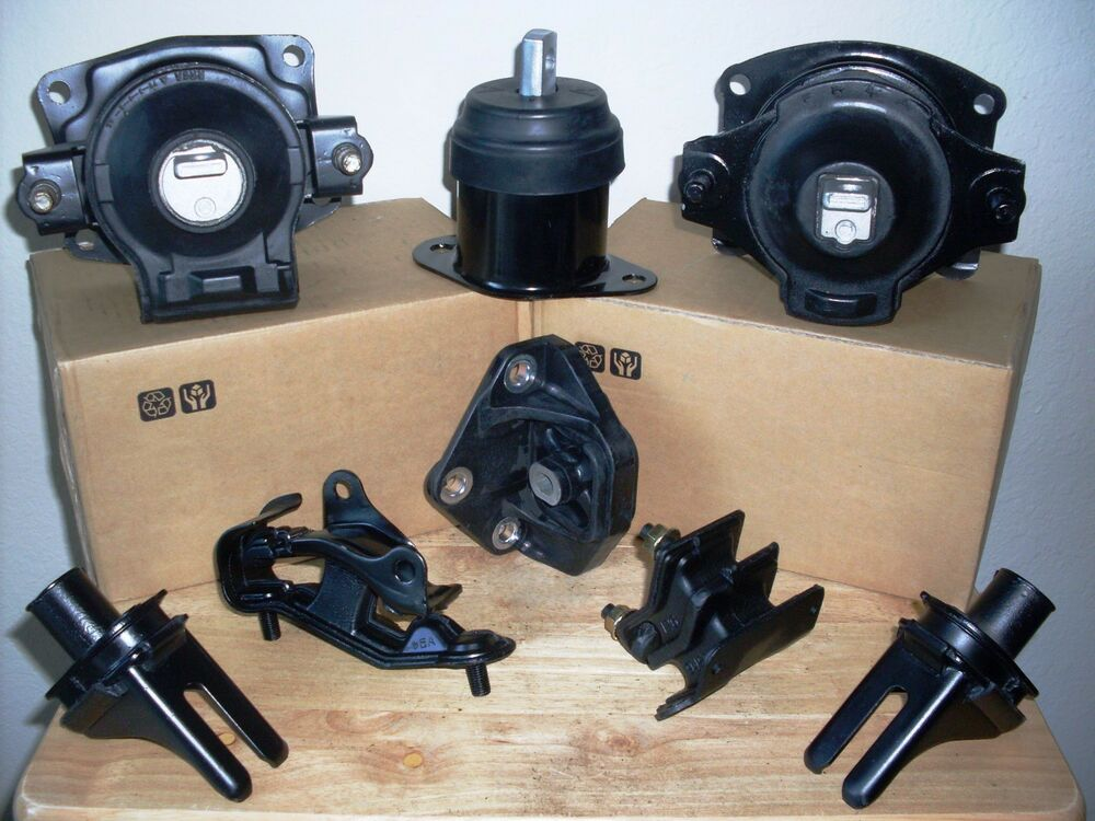 set 8 engine transm suspension mounts for 2003 2005. Black Bedroom Furniture Sets. Home Design Ideas