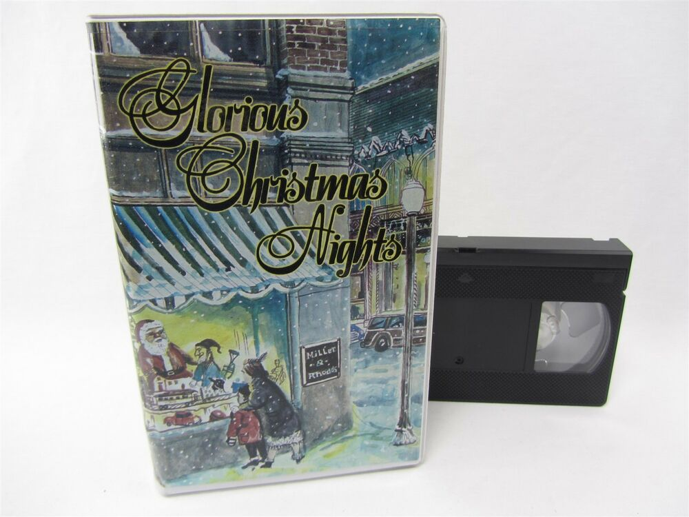 VHS - Glorious Christmas Nights 1999 West End Assembly of God, Bob ...