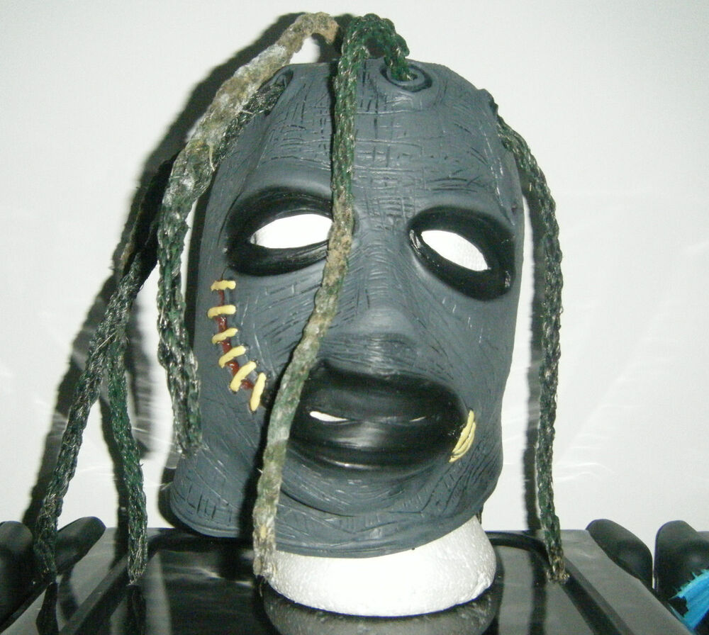 UK COREY TAYLOR NEW LATEX SLIPKNOT BAND FANCY DRESS UP ...