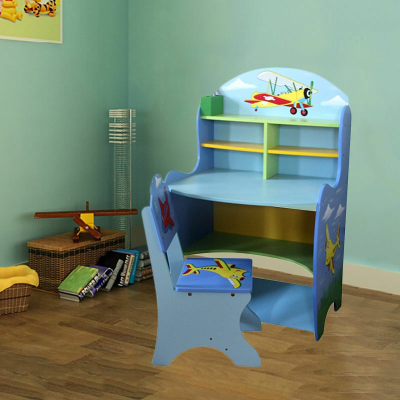 Children Furniture Kids Girls Boys Learning Study Table