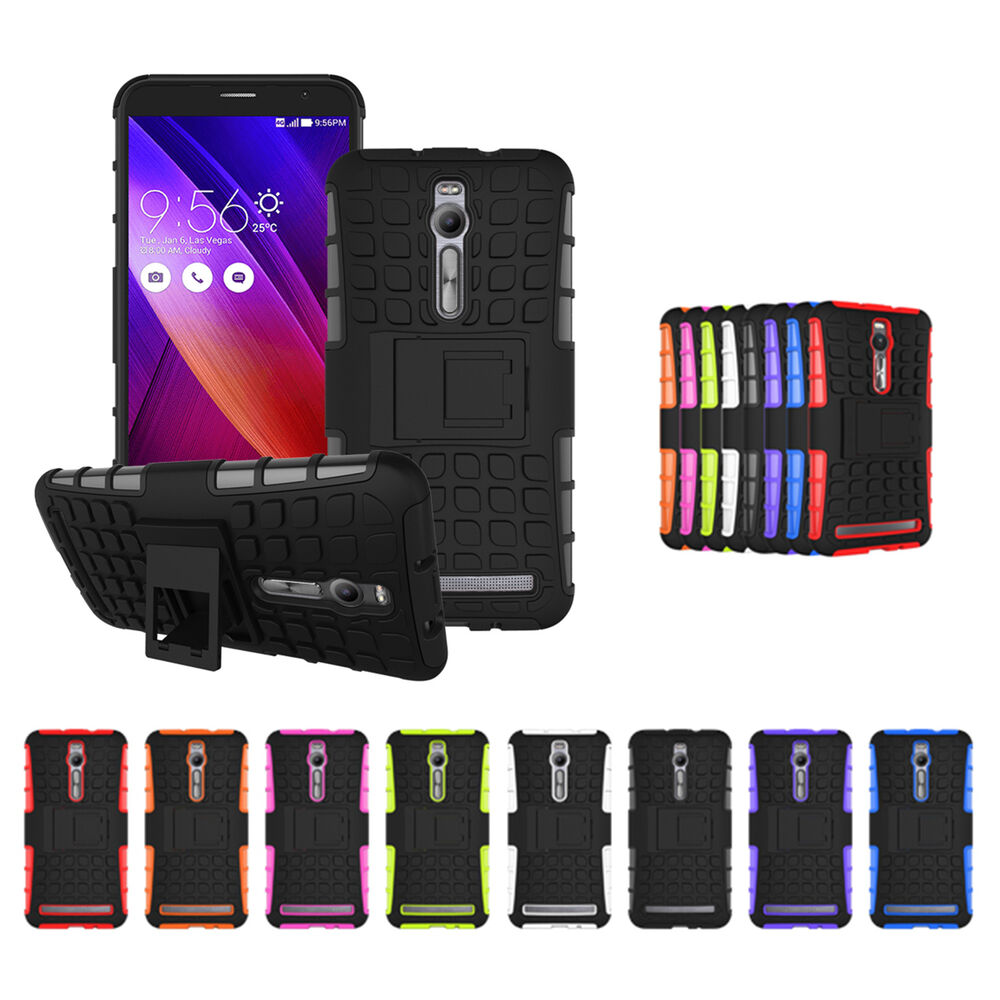 ... Grip Armor Stand Phablet Case Cover For 5.5u0026#39;u0026#39; ASUS Zenfone 2 : eBay