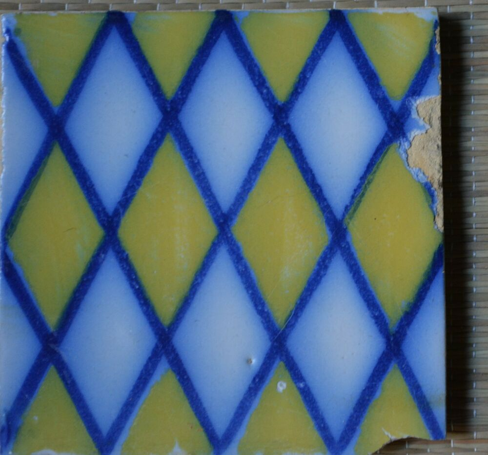 France antique tile pas de calais desvres c1870 ebay - Tables decennales pas de calais ...