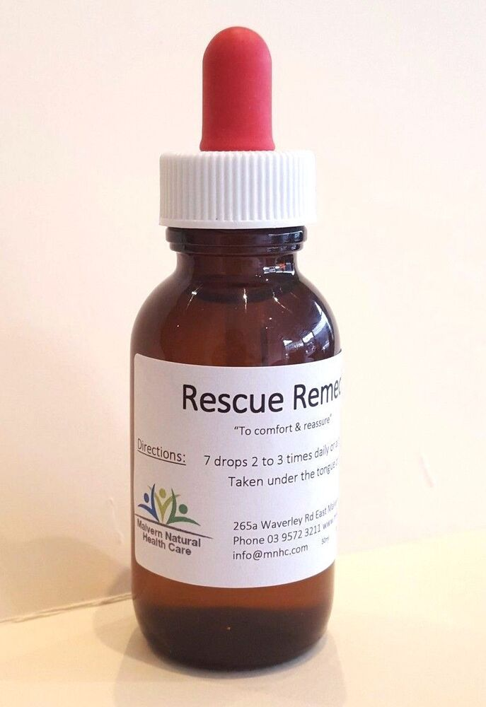 Dr Bach S Rescue Remedy For Dogs