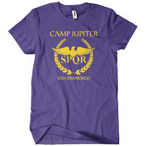 Camp Jupiter Mens T Shirt Funny Cotton Adult Tee Sizes S