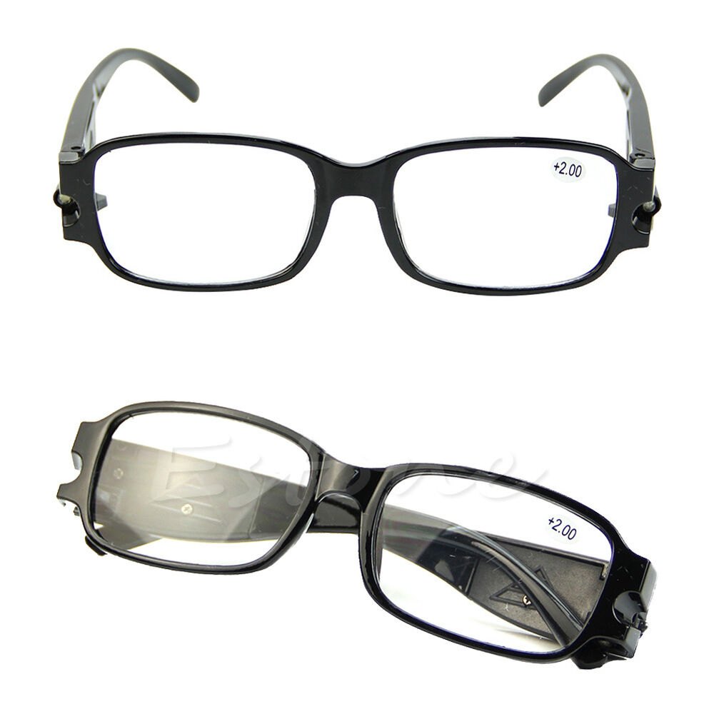 multi strength led vision reading glasses presbyopia