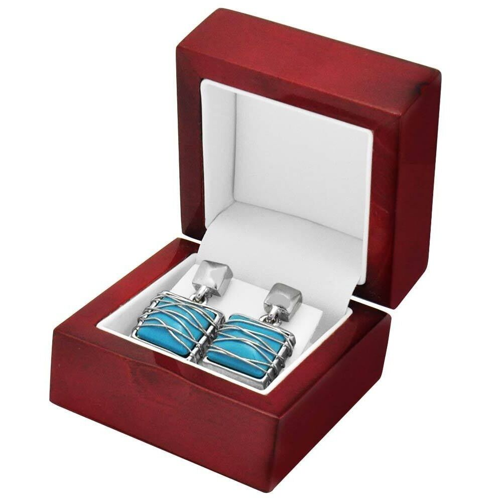 6 rosewood earring jewelry display gift boxes ebay