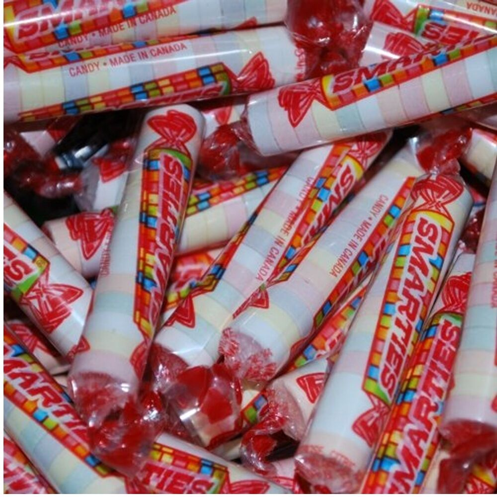 Smarties Candy Wrapped Candies Nostalgic Fresh 2 Pounds ... Smarties Lollipops