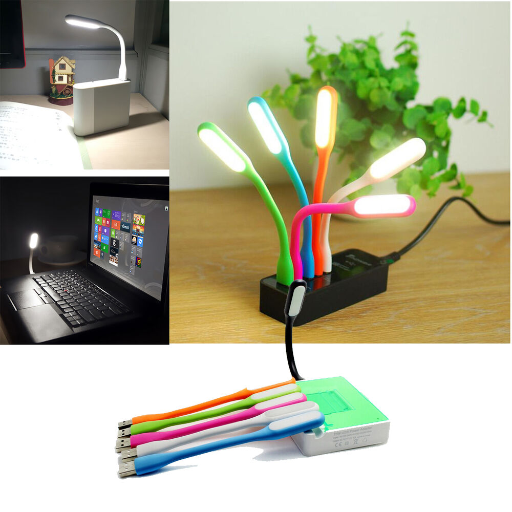 5pcs flexible usb led light computer keyboard reading notebook pc laptop lamp ebay. Black Bedroom Furniture Sets. Home Design Ideas