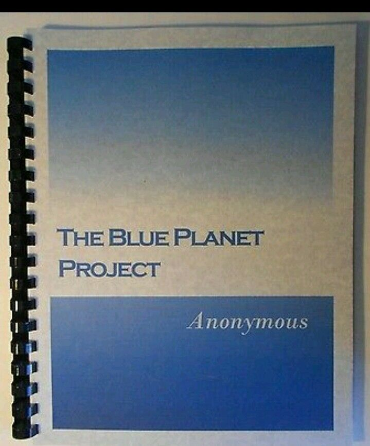 blue planet project Project blue book was one of a series of systematic studies of unidentified flying objects  had first chased a communications satellite, then the planet venus .