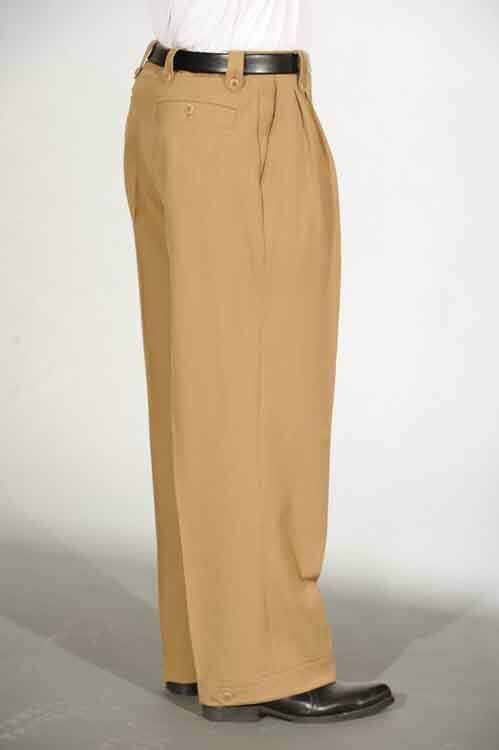 Cuffed Wide Leg Pants