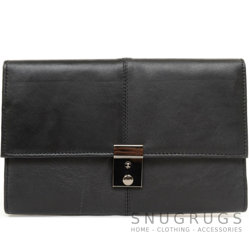 soft leather travel document passport tickets case With leather passport and document holder