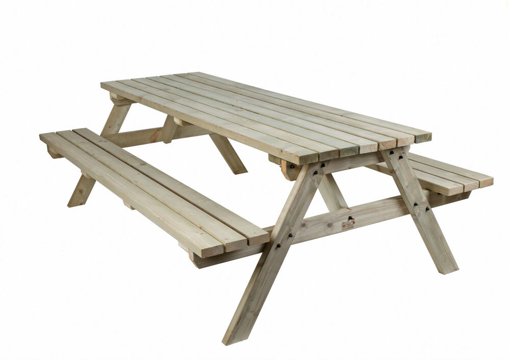 7ft Picnic Table Bench Commercial Quality Pressure