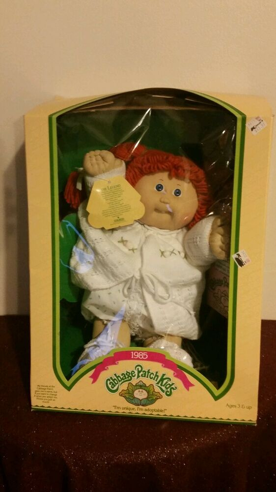 1985 Cabbage Patch Kids Doll Nos Clarissa Tansy Ebay