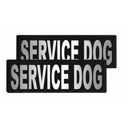 Service Dog Patch Reflective Extra Label Tag for Dog Harness Service
