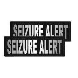 Seizure Alert Patch Patch Reflective Extra Label Tag for Dog Harness