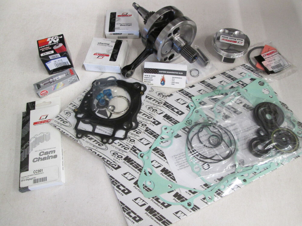 honda crf 450r wiseco complete engine rebuild kit crankshaft piston 2002 2008 ebay. Black Bedroom Furniture Sets. Home Design Ideas