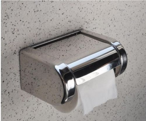 Wall Mounted Bathroom Stainless Steel Toilet Paper Holder