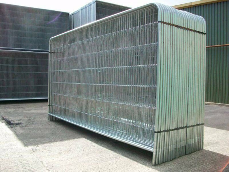Haras site fencing security fence panel temporary