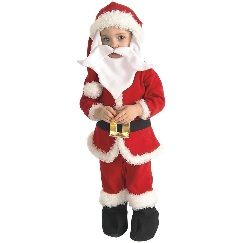Santa costume toddler baby christmas claus suit
