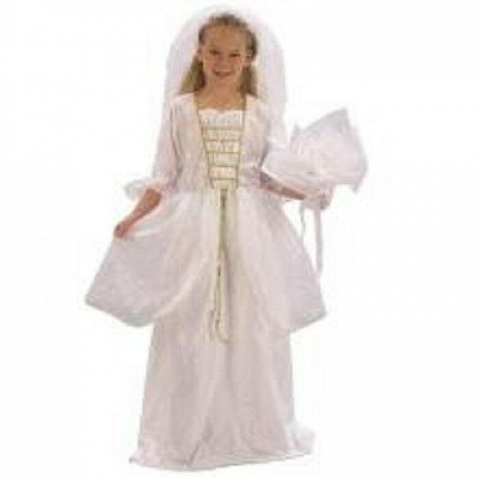 girls bride fancy dress costume kids child 39 s wedding dress outfit