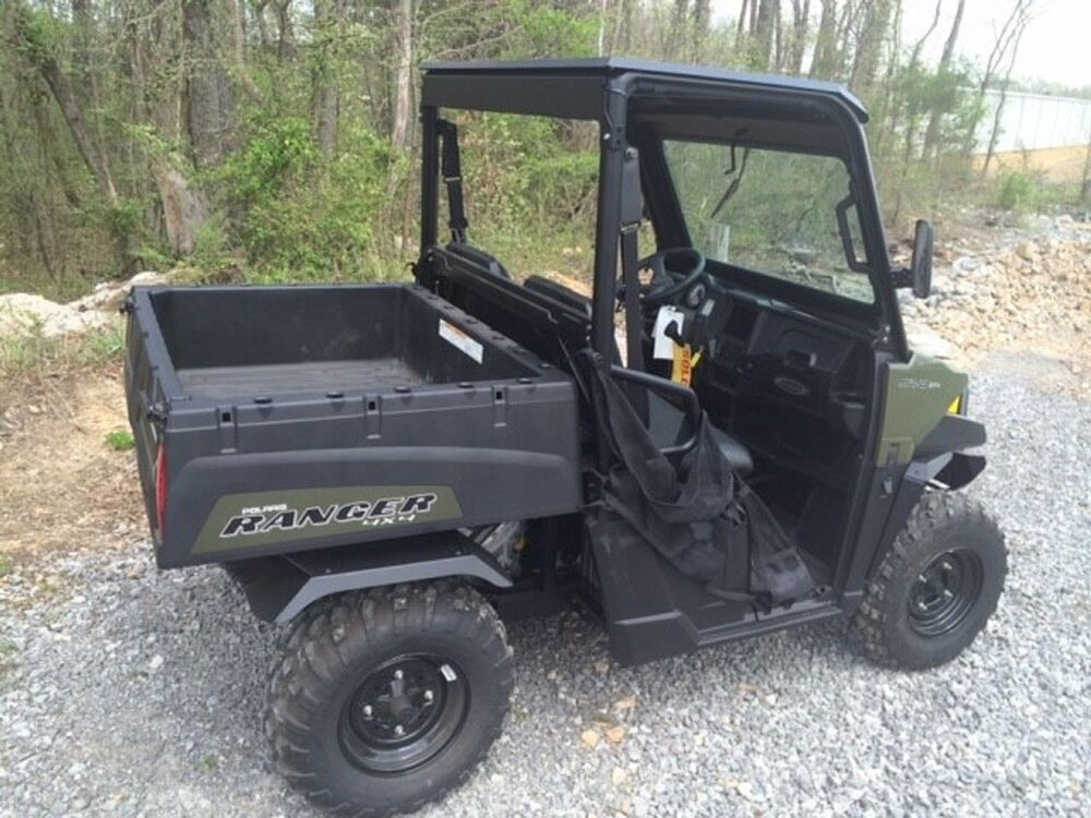 polaris ranger 570 midsize 2015 2016 aluminum fender flare set of 4 ebay. Black Bedroom Furniture Sets. Home Design Ideas