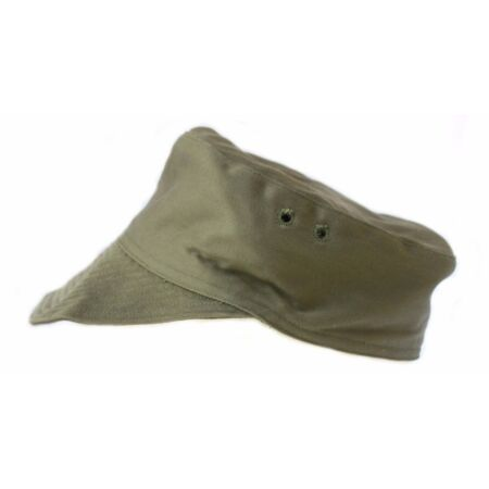 img-French Military Army / Foreign Legion Green Cotton Peaked Cap Combat Field Hat