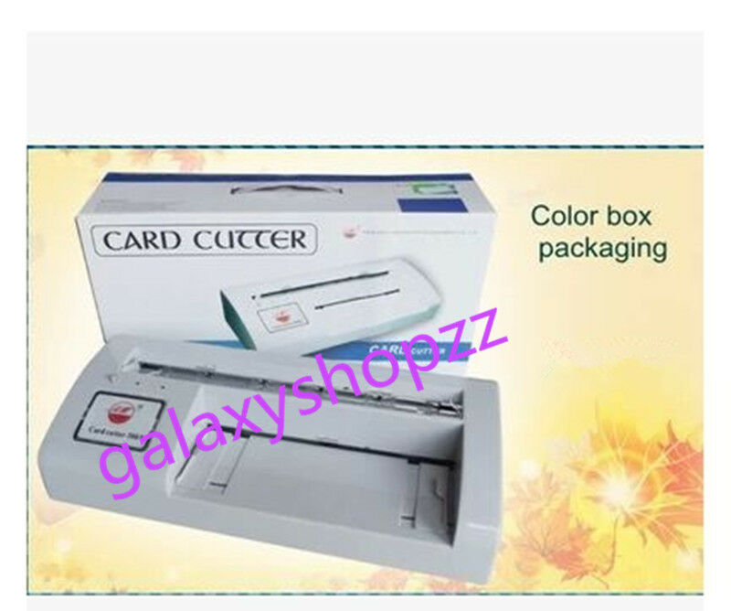 300B Automatic Name Card Slitter business card cutting