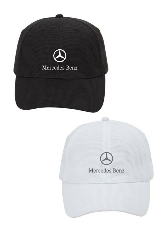 Mercedes benz fitted structured lightweight performance for Mercedes benz hat