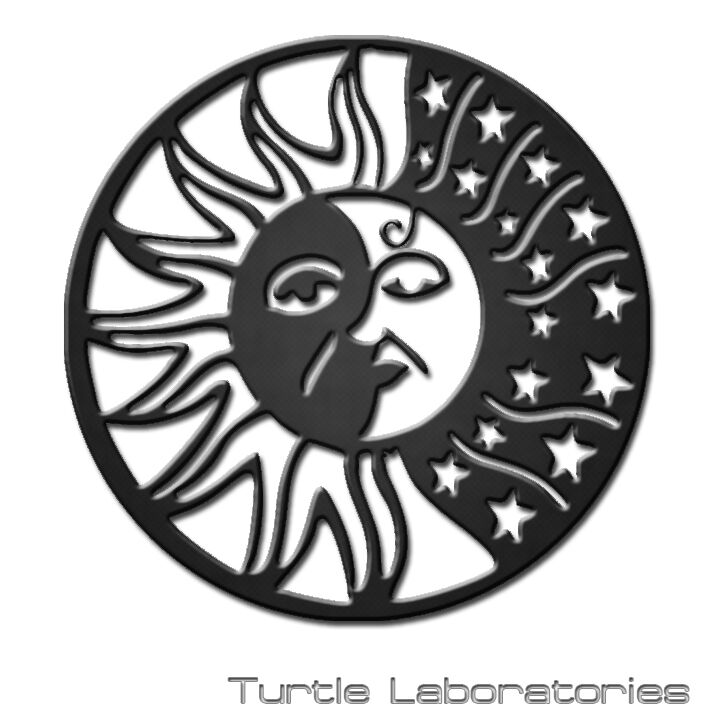 Decorative Sun And Moon Plasma Cut Metal Wall Art Hanging