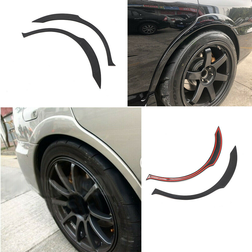 Rear wide wheel arch fender flare lips fit for subaru impreza wrx sti