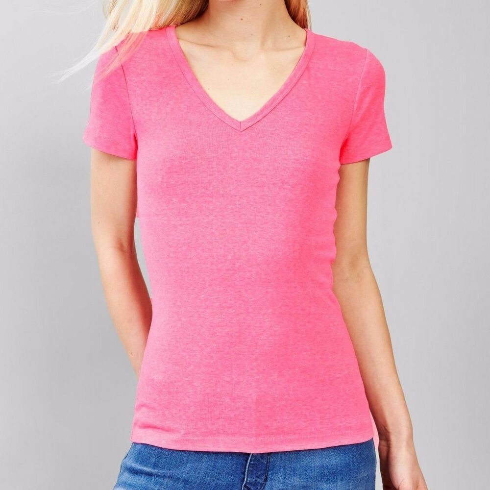 Deep V Shirt Women