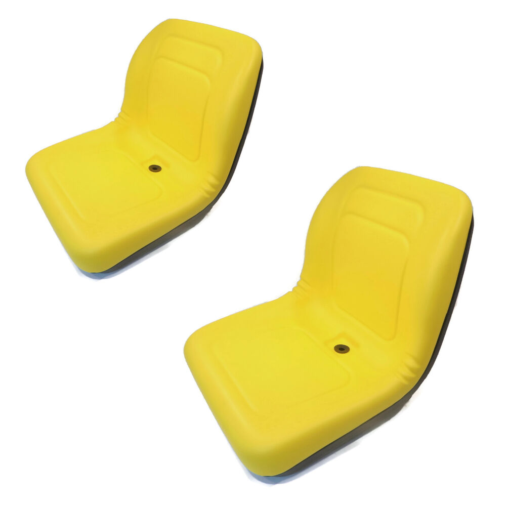(2) Yellow HIGH BACK Seats John Deere Gator Military 6x4 M ...