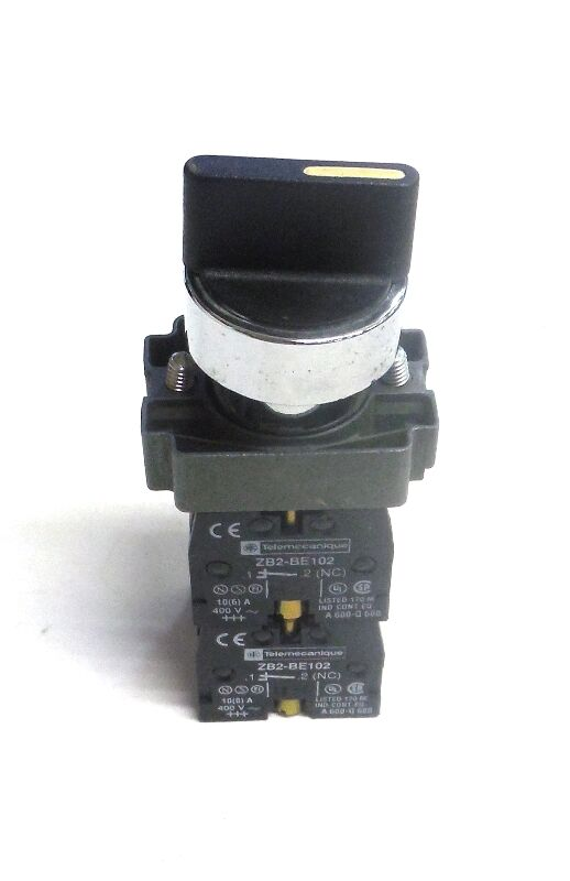 Telemecanique Selector Switch Zb2 Be101 Contact Zb2 Bd2