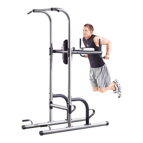 power tower golds gym pull push chin up bar exercise dip. Black Bedroom Furniture Sets. Home Design Ideas