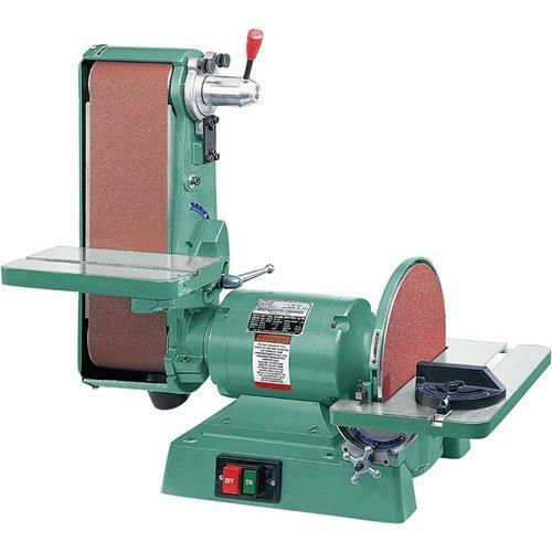 "G1276 Grizzly Combination Sander - 6"" x 48"" Belt, 12"" Disc ..."