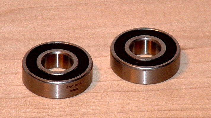Hot tub and spa pump motor bearing set of 2 the fix for Pool motor bearings