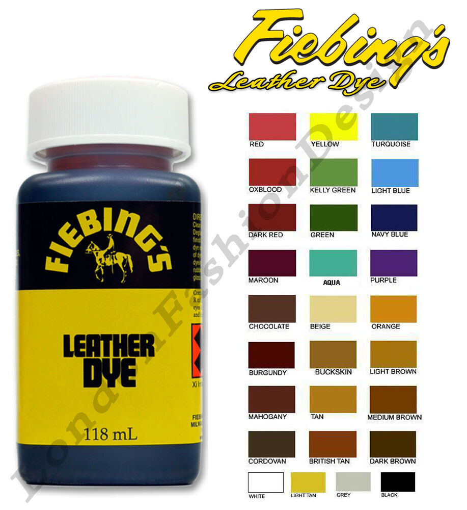 Fiebing 39 S Leather Colourant For Repair Recolour Dye Stain Pigment A