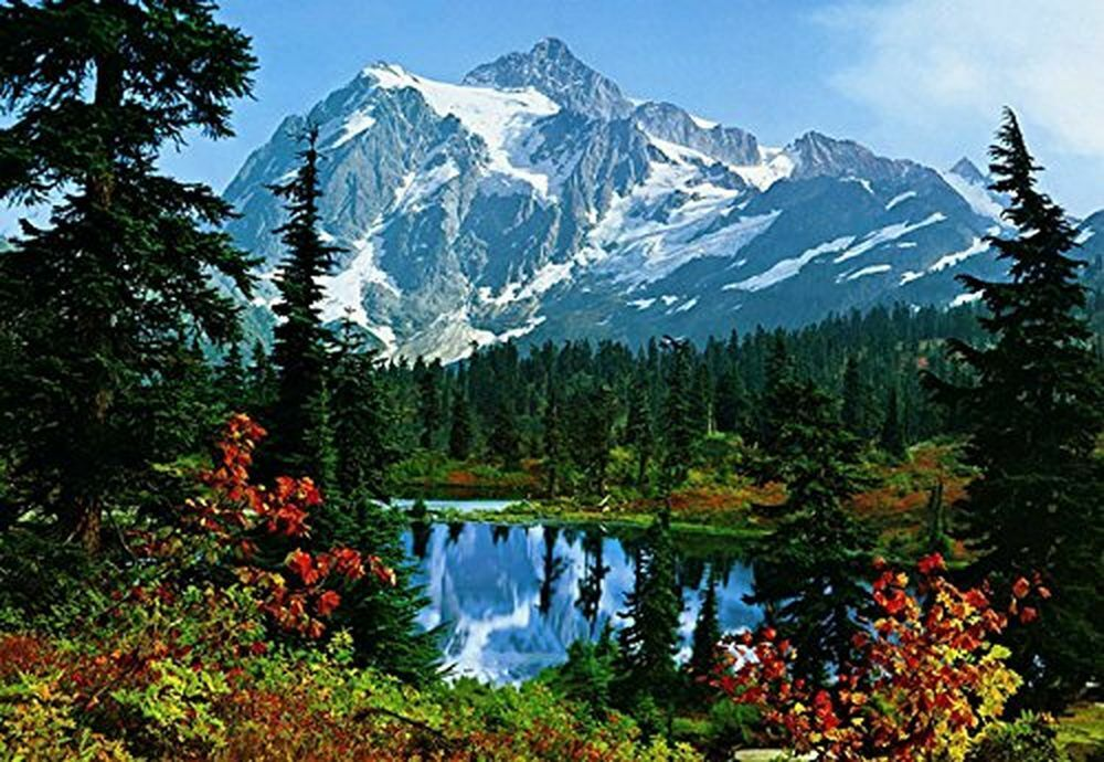 Photo Wallpaper Wall Murals - Mountain Morning Nature Landscape - 211