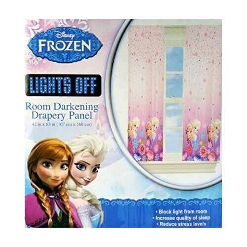 Kids Room Curtains 1pc Panel Darkening Window Frozen