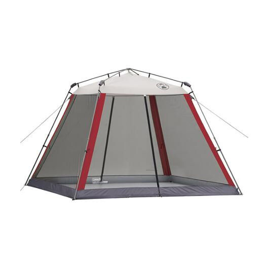 Coleman 10 10 Instant Canopy With Screen Walls : Instant screened canopy bug protection mosquito