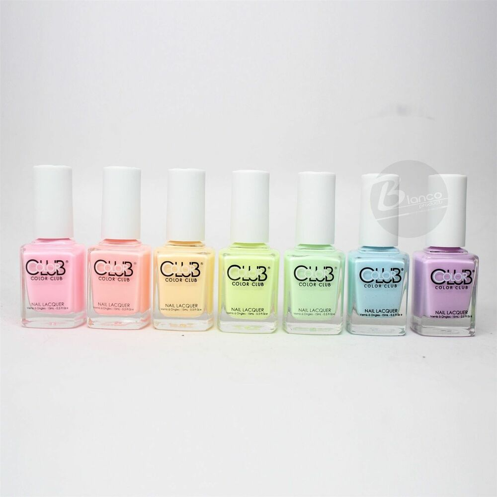 Color Club Poptastic Pastel Neon Collection Lacquer Set Of