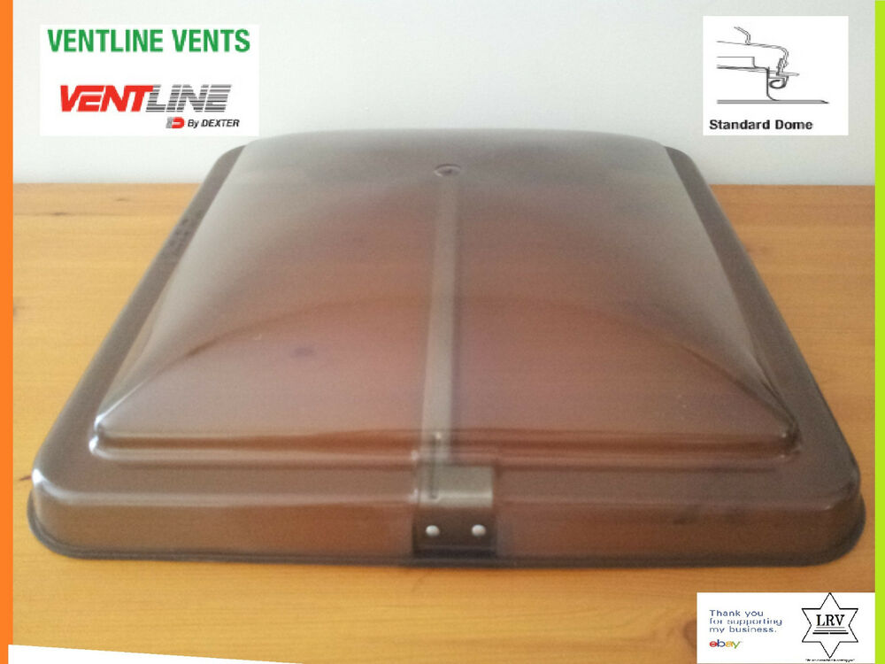 Smoked 14 Quot X14 Quot Replacement Roof Vent Cover Mobile Camper